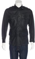 Gucci Leather Utility Jacket