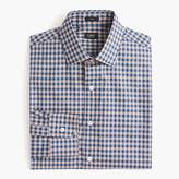 J.Crew Crosby Classic-fit spread-collar shirt in microgingham