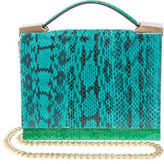 Brian Atwood Aston Watersnake Crossbody Bag