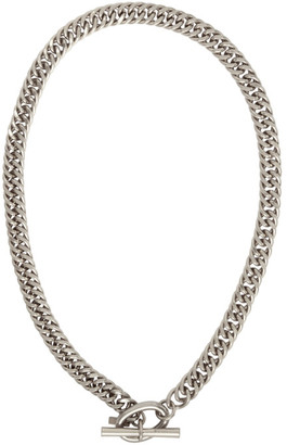System Silver Link Necklace
