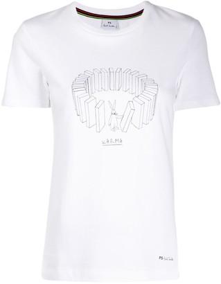Paul Smith printed Karma T-shirt