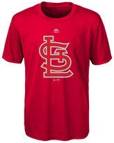 Majestic Kids' St. Louis Cardinals Cool Base Reflective T-Shirt
