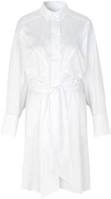 MUNTHE Understand Dress - 34 | white | cotton - White/White