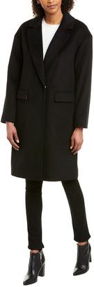 trina Trina Turk Trina Turk Bianca Wool Long Coat