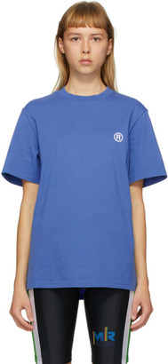 Martine Rose SSENSE Exclusive Blue Graphic T-Shirt