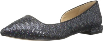 The Fix Amazon Brand Women's Emma Pointed-Toe D'Orsay Ballet Flat