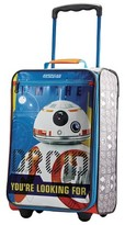 "American Tourister Star Wars BB8 Softside Carry On Luggage - Orange/Blue (18"")"