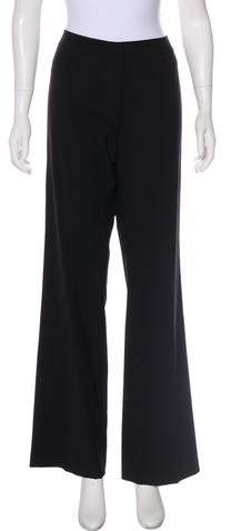 148 Wool Mid-Rise Wide-Leg Pants w- Tags