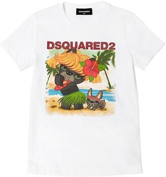 DSQUARED2 Ciro Print Cotton Jersey T-shirt