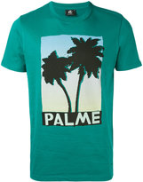 Paul Smith palm tree print T-shirt - men - Cotton - S