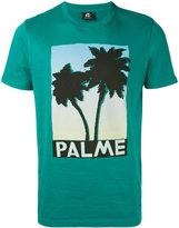 Paul Smith palm tree print T-shirt