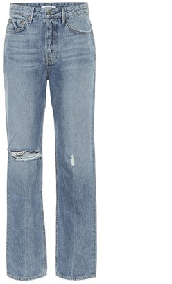 GRLFRND High-rise straight jeans