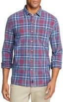 Johnnie-O Salina Plaid Corduroy Long Sleeve Button-Down Shirt