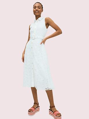 Kate Spade Leaf Lace Dress