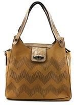 MG Collection Helena Synthetic Shoulder Bag.