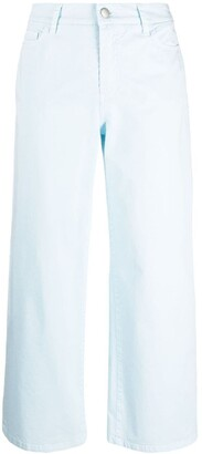 Malo Mid-Rise Flared Trousers
