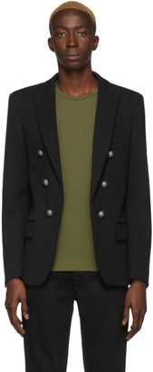 Balmain Black Six Button Jacket
