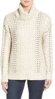 RD Style Beaded Cowl Neck Sweater