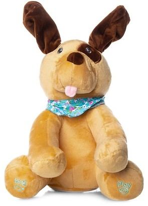 Peek A Boo Sing & Play Interactive Dog Plush Toy