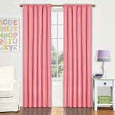 Eclipse Curtains Eclipse Kids Kendall Blackout Window Curtain Panel, 42 by 63-Inch, Coral