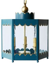 The Well Appointed House The Scalloped Lantern-Available in Three Different Sizes and Six Different Colors