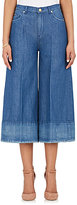 Co Women's Crop Wide-Leg Jeans