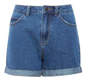 Dorothy Perkins Womens **Vero Moda Blue Mom Denim Shorts, Blue