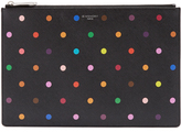 Givenchy Polka-dot print coated-canvas pouch
