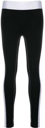 NO KA 'OI No Ka' Oi stitching detail sport track pants