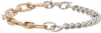 Justine Clenquet Silver and Gold Vesper Bracelet