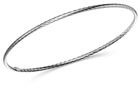 Bloomingdale's Twisted Bangle in 14K White Gold - 100% Exclusive