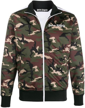 Palm Angels Camouflage Print Track Jacket