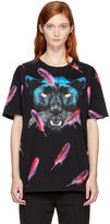 Marcelo Burlon County of Milan Black Jepek T-Shirt