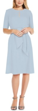 Adrianna Papell Tie-Front Dress