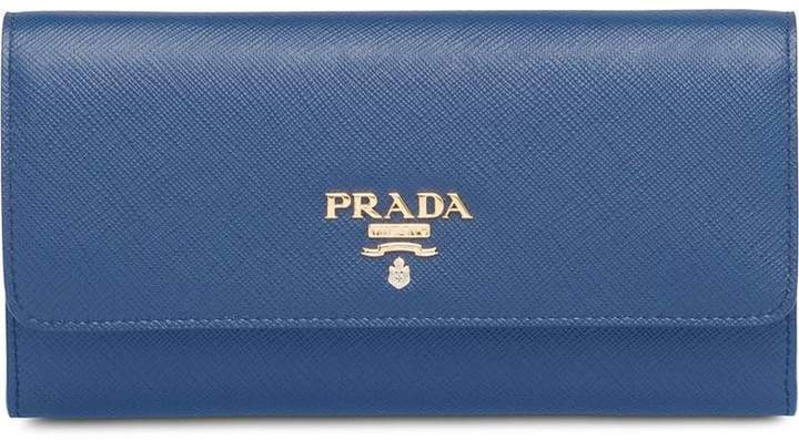 768290fa00d6 Prada Blue Women's Wallets - ShopStyle