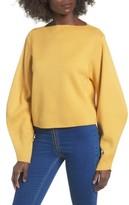 Topshop Women's Balloon Sleeve Sweater