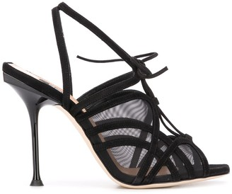 Sergio Rossi Lace-Up Sandals