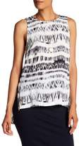 Philosophy Apparel Hi-Lo Pattern Tank