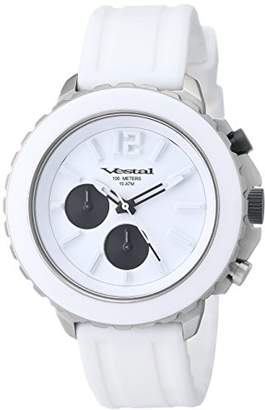 "Vestal Men's YATCS05 ""Yacht"" Watch in White Stainless Steel"