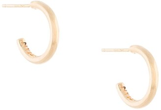 Sarah & Sebastian 10kt yellow gold Bold Liberty hoops