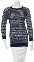 Isabel Marant Open Knit Long Sleeve Top