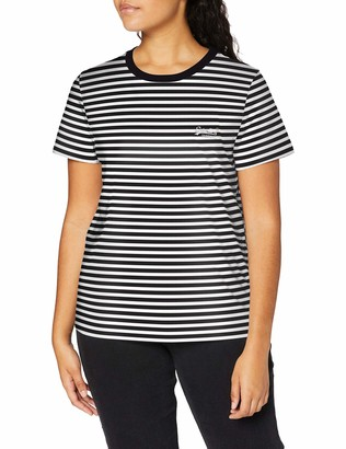 Superdry Women's Orange Label Tee T-Shirt