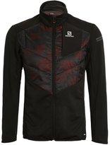 Salomon Park Warm Sports Jacket Black/briquex/dark Cloud