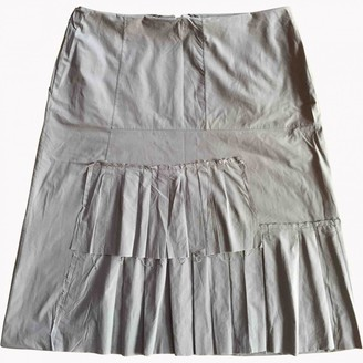 Marni Purple Cotton Skirt for Women