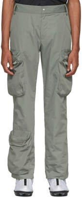 A-Cold-Wall* A Cold Wall* Green Multi-Pocket Cargo Pants