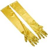 Aivtalk Women Shiny Stretch Satin Long Elbow Wrist Bridal Gloves