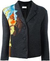 Dries Van Noten jacquard blazer