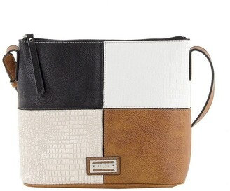 Cellini CSR071 Lois Zip Top Crossbody Bag