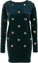 Alexandre Vauthier eyelet dress - women - Cotton/Polyester - 34
