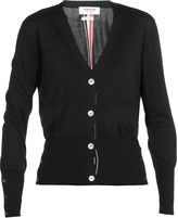 Thom Browne Silk And Cotton Cardigan
